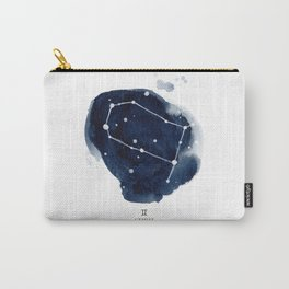 Zodiac Star Constellation - Gemini Carry-All Pouch