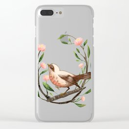 Spring Is Forever In My Heart Clear iPhone Case