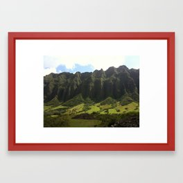 Hawaii from the Land Framed Art Print