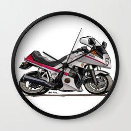 Yamaha XJ650 Seca Turbo Caricature Wall Clock