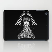 laura palmer iPad Cases featuring She's Filled with Secrets - Laura Palmer - Twin Peaks by Alice Rogers