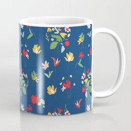 Vinage Retro bouquet botanicals Coffee Mug
