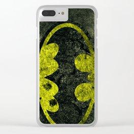 bat logo Clear iPhone Case