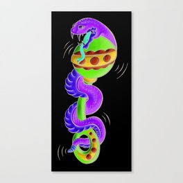 Rattle Snake Canvas Print