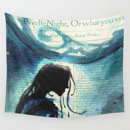 Twelfth Night Viola Wall Tapestry
