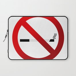 no smoking sign Laptop Sleeve