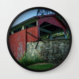 Bogert's Bridge - Long View Wall Clock