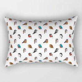 Bird Breeds Rectangular Pillow