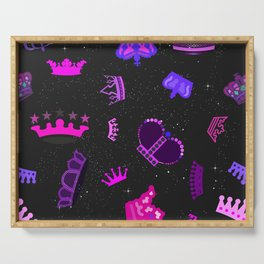 Space Princess Serving Tray