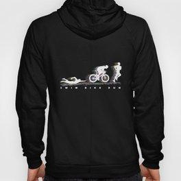 Triathlon - Swim Bike Run Hoody