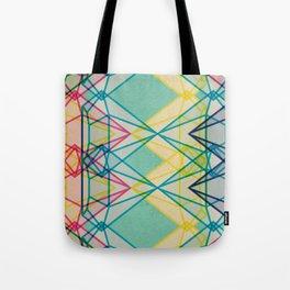Diamonds CMYK Tote Bag