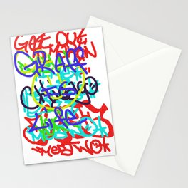 Graffiti Is Life Stationery Cards