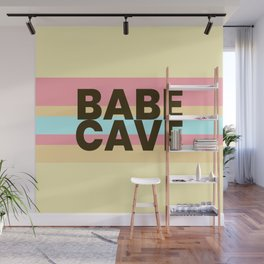 Babe Cave Creamy Spring Wall Mural