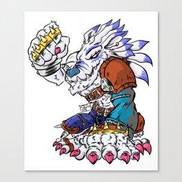 Weregarurumon Canvas Print