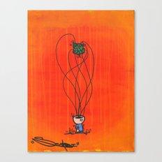 Loose Brain Canvas Print