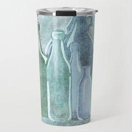 Antique Bottles Travel Mug