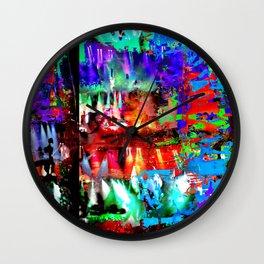 Caspian Limelight Wall Clock