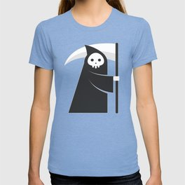 black robe death T-shirt