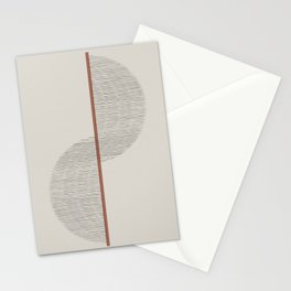 Geometric Composition II Stationery Cards