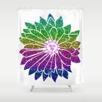 sunflower Shower Curtains featuring SunFlower by haroulita