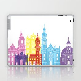 Innsbruck skyline pop Laptop & iPad Skin