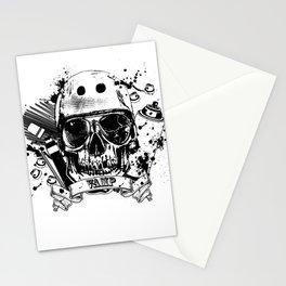 SkullAndCrossbones Stationery Cards