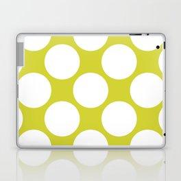 Polka Dots Green Laptop & iPad Skin