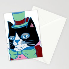 Dignified Cat Does Pastels Stationery Cards