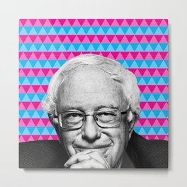 Bernie is Bae Metal Print