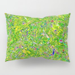 Abstract RR QQY Pillow Sham