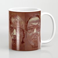 michael scott Mugs featuring Michael by ARTito
