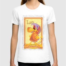 Astrological Zoodiac - Leo T-shirt