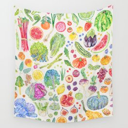 Seasonal Harvests - Neutral Wall Tapestry