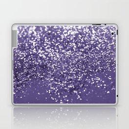Sparkling ULTRA VIOLET Lady Glitter #1 #shiny #decor #art #society6 Laptop & iPad Skin