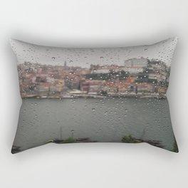 A Rainy Day in Porto Rectangular Pillow
