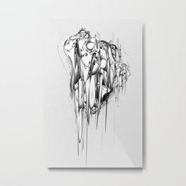 Gravity Metal Print