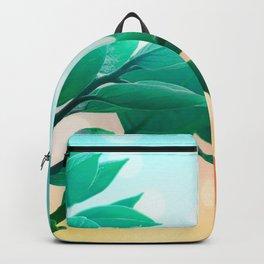 Foliage Vignette Bokeh Backpack