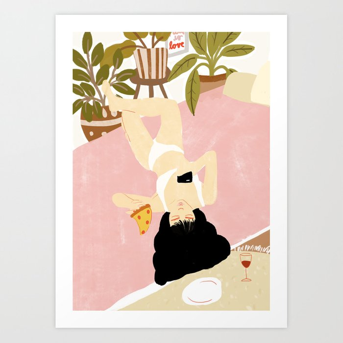 This is life Art Print