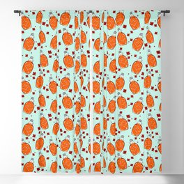 Super Canadian Maple Syrup Pattern Blackout Curtain