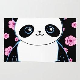 Pandacorn in Spring Rug