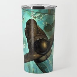 That One Second Before Your Chute Opens by Tullio Crali Travel Mug