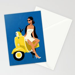 Vespa Style Stationery Cards