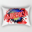 America Red White And Blue Cartoon Exclamation by homestead