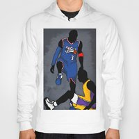 lakers Hoodies featuring The Step Over by nissa