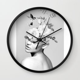 Floral beauty 2 Wall Clock