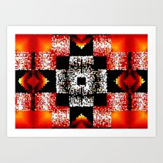 4 Winds and Fire Art Print