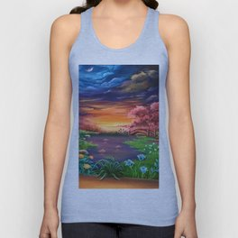 On the other side Unisex Tank Top