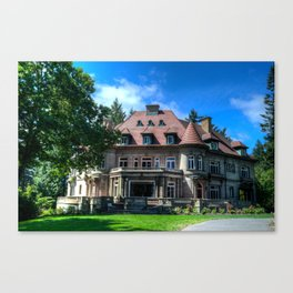 Pittock Mansion Canvas Print