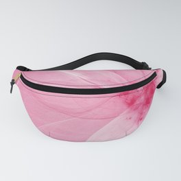 Pink Fairy Blossom Fractal Fanny Pack