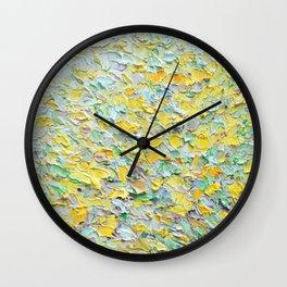 Forsythia Spring Wall Clock